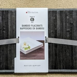 Other - Bamboo placemats (6)